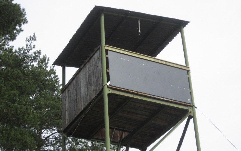 Det reparerade tornet. Foto: Åke Jansson.