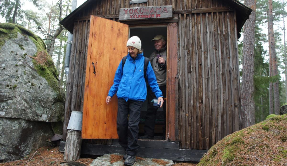 Ingrid och Åke har tittat in i Yokohama.